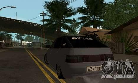 VAZ 2112 GVR for GTA San Andreas back left view