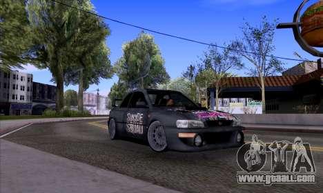 Subaru impreza 22B (SUICIDE SQUAD) for GTA San Andreas