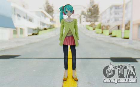 Autumn Breeze Miku for GTA San Andreas second screenshot