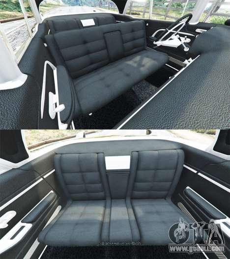 GTA 5 Cadillac Eldorado Brougham 1957 v1.1 steering wheel
