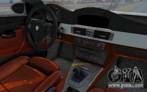 BMW M3 E92 Liberty Walk LB Performance for GTA San Andreas inner view