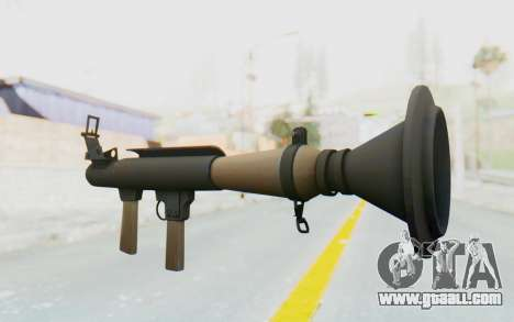 Rocket Launcher from TF2 for GTA San Andreas second screenshot