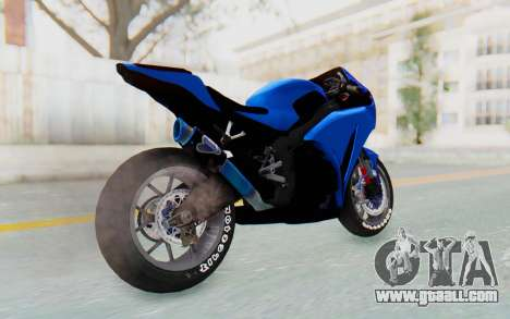 Honda CBR1000RR Streetrace for GTA San Andreas left view