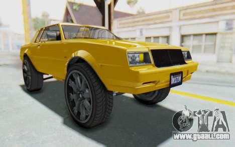 GTA 5 Willard Faction Custom Donk v1 IVF for GTA San Andreas right view