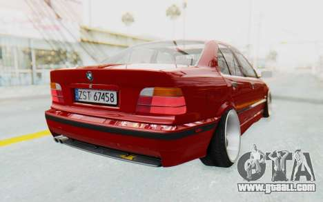 BMW M3 E36 2.5 TDS for GTA San Andreas right view