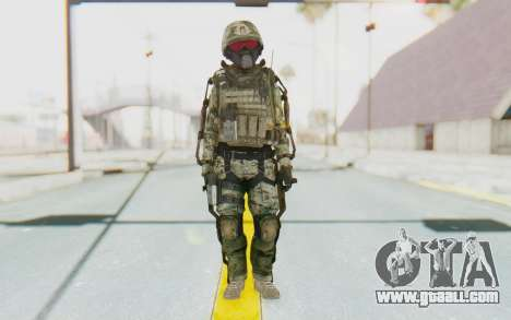 CoD AW US Marine Assault v2 Head B for GTA San Andreas second screenshot