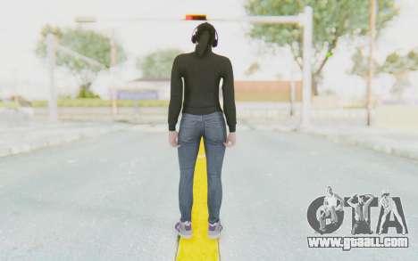 GTA Online Skin Female for GTA San Andreas third screenshot