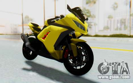 Kawasaki Ninja 250 Abs Streetrace v2 for GTA San Andreas right view