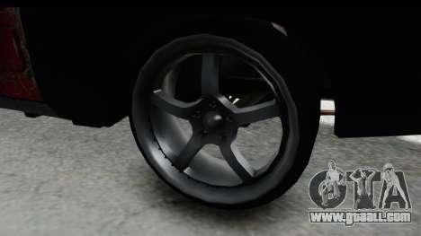 Dodge Charger Daytona F&F Bild for GTA San Andreas back view