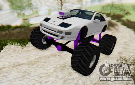 Nissan 300ZX Monster Truck for GTA San Andreas