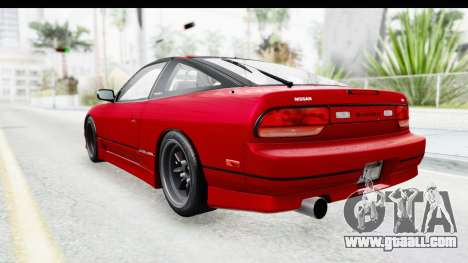 Nissan 240SX 1989 v1 for GTA San Andreas left view