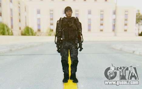 CoD Advanced Warfare Gideon for GTA San Andreas second screenshot