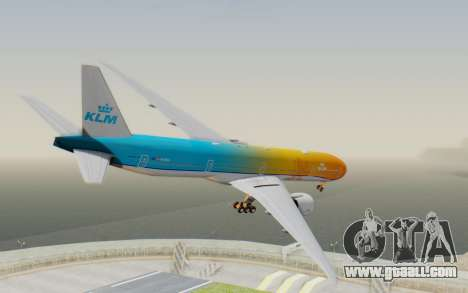 Boeing 777-300ER KLM - Royal Dutch Airlines v1 for GTA San Andreas left view