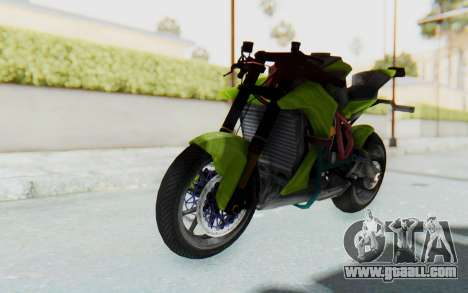 KTM 1190 R Stunter for GTA San Andreas right view
