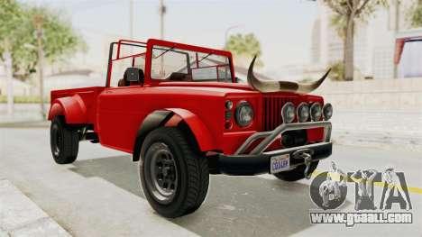 GTA 5 Canis Bodhi IVF for GTA San Andreas