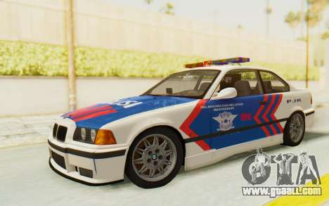 BMW M3 E36 Police Indonesia for GTA San Andreas
