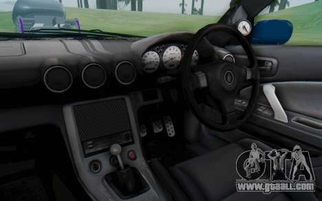 Nissan Silvia S15 Monster Truck for GTA San Andreas inner view
