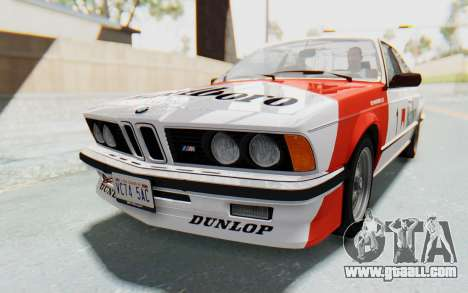 BMW M635 CSi (E24) 1984 IVF PJ1 for GTA San Andreas engine