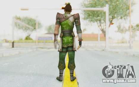 Dynasty Warriors 8 - Guan Su for GTA San Andreas third screenshot