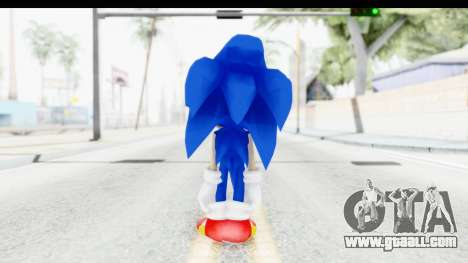 Dreamcast Sonic for GTA San Andreas third screenshot