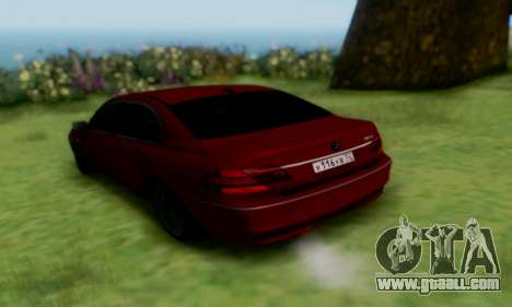 BMW 760i for GTA San Andreas left view