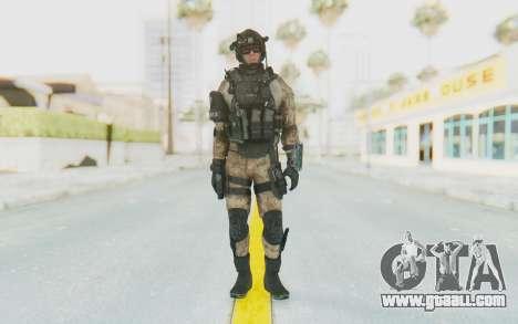 Federation Elite Assault Desert for GTA San Andreas second screenshot