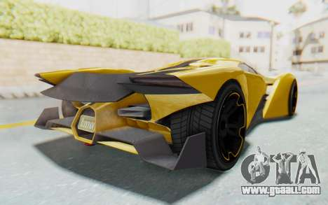 GTA 5 Grotti Prototipo v2 IVF for GTA San Andreas right view
