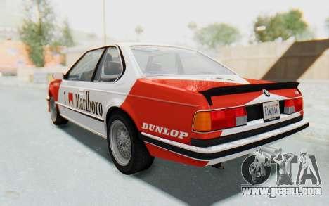 BMW M635 CSi (E24) 1984 IVF PJ1 for GTA San Andreas wheels