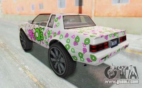GTA 5 Willard Faction Custom Donk v1 IVF for GTA San Andreas wheels