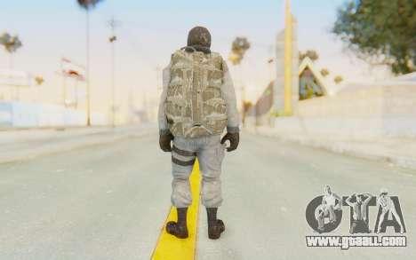 COD BO Bruce Harris Winter for GTA San Andreas third screenshot