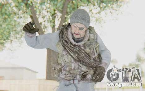 COD BO Grigori Weaver Winter for GTA San Andreas