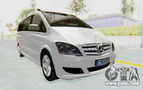 Mercedes-Benz Viano W639 2010 Long Version for GTA San Andreas