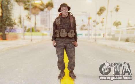 COD BO PVT Pepper Vietnam for GTA San Andreas second screenshot