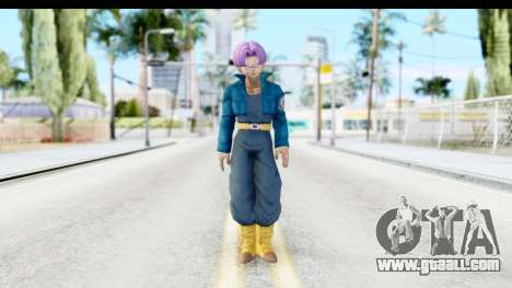Dragon Ball Xenoverse Future Trunks SJ for GTA San Andreas second screenshot