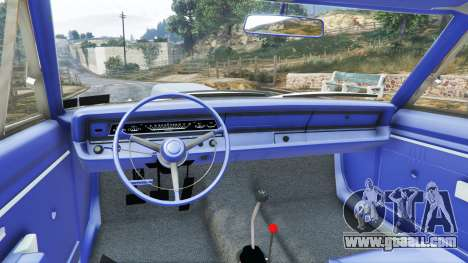 GTA 5 Dodge Dart 1968 Hemi front right side view