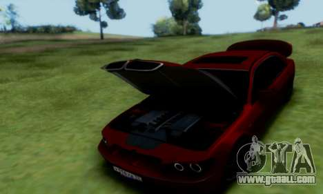 BMW 760i for GTA San Andreas back view