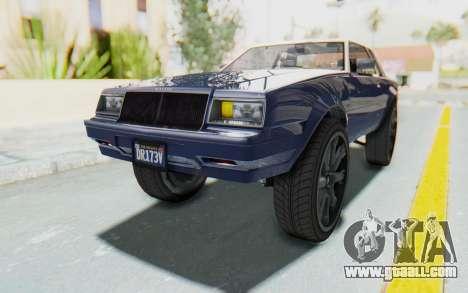 GTA 5 Willard Faction Custom Donk v1 for GTA San Andreas right view