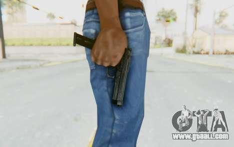 Tariq Iraqi Pistol Back v1 Black Long Ammo for GTA San Andreas third screenshot