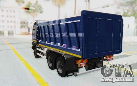 Volvo FMX 6x4 Dumper v1.0 Color for GTA San Andreas left view