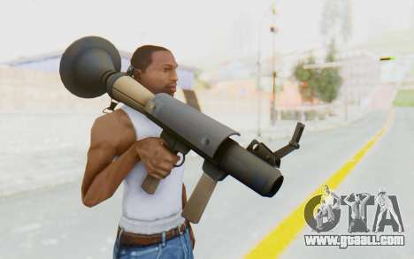Rocket Launcher from TF2 for GTA San Andreas third screenshot