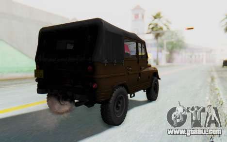 UAZ-460Б IVF for GTA San Andreas left view