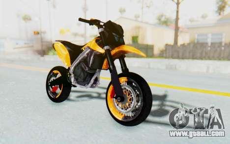 Kawasaki KLX150SD Tracker Supermoto for GTA San Andreas