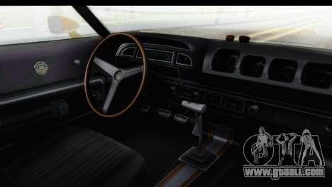 Mercury Cyclone Spoiler 1970 IVF for GTA San Andreas inner view