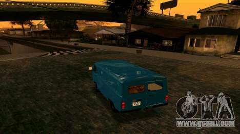 UAZ-452 for GTA San Andreas right view