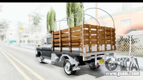 GMC 3100 Diesel for GTA San Andreas left view