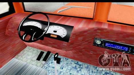 Dodge D600 v2 Bus for GTA San Andreas inner view