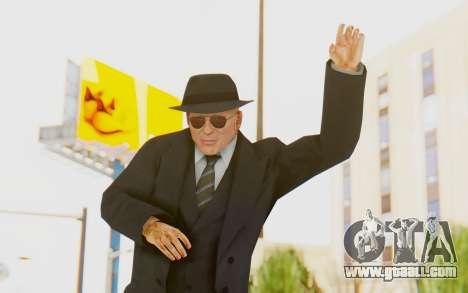 Mafia 2 - Jimmy Vendetta Black Suit for GTA San Andreas