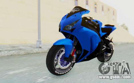 Honda CBR1000RR Streetrace for GTA San Andreas