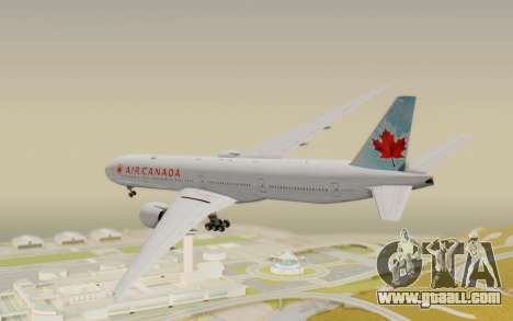Boeing 777-300ER Air Canada for GTA San Andreas left view