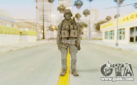 CoD MW2 Ghost Model v3 for GTA San Andreas second screenshot